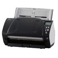 Esta es la imagen de escaner de documentos fujitsu fi-7160captura rapida a color en escala de grises y blanco y negro 60 ppm/120 ipm escaneo de tarjeta con relieve1.4 mm