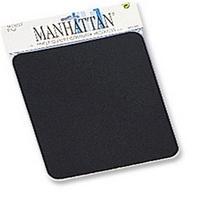 Esta es la imagen de mouse pad 6 mm manhattan negro en bolsa